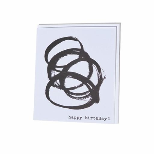Steve McKenzie Stationery Happy Birthday Card