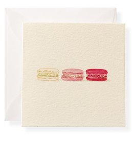 Macarons Enclosure Card