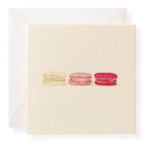 Macarons Enclosure Card