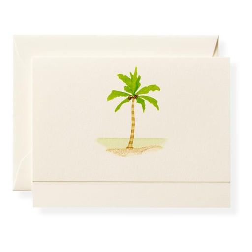 Palm Tree Beach Card