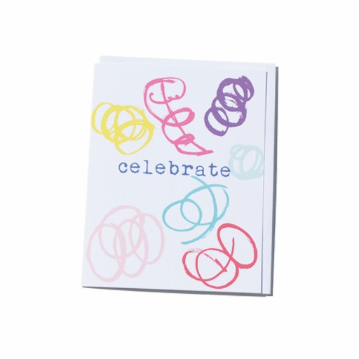 Steve McKenzie Stationery Celebrate Card