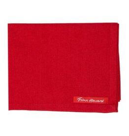 Solid Red Tea Towel