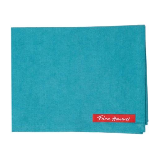 Solid Blue Tea Towel