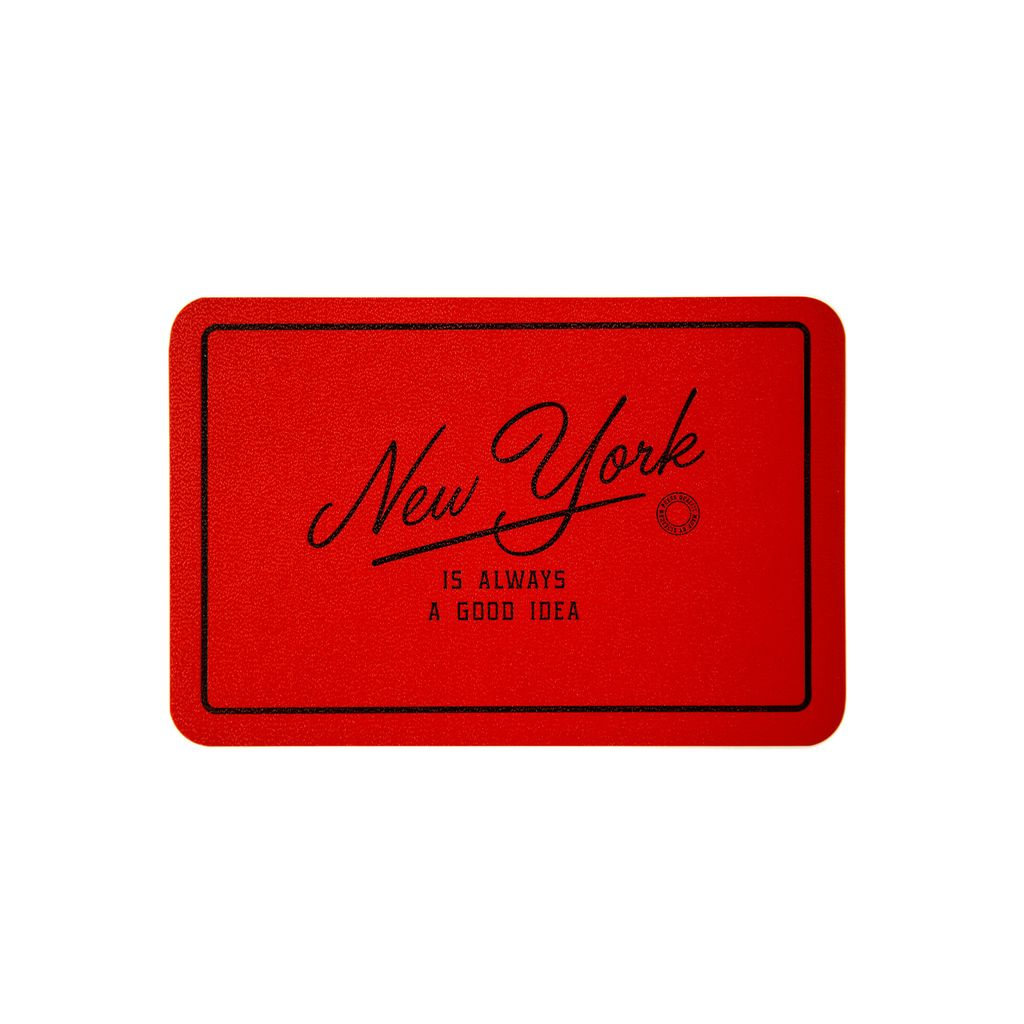 Leatherette Postcard:  New York