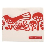Love Doves Red Tea Towel