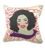 """Oprah Winfrey Pillow 21""""x21"""""""