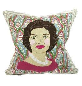 """Jackie Kennedy Pillow 21""""x21"""""""