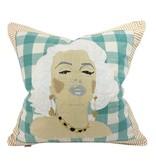 "Marilyn Monroe Pillow 21"" x 21"""