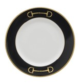 Julie Wear Cheval Black Bread Plate