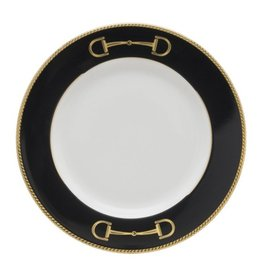 Julie Wear Cheval Black Bread Plate