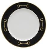 Julie Wear Cheval Black Dinner Plate