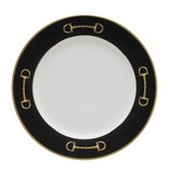 Julie Wear Cheval Black Salad Plate