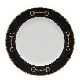Julie Wear Cheval Black Salad Plate
