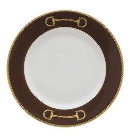 Julie Wear Cheval Brown Bread Plate