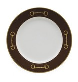 Julie Wear Cheval Brown Salad Plate