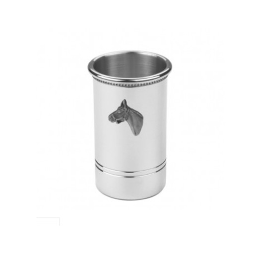 Salisbury Inc. Pewter Horse Head Pencil Cup