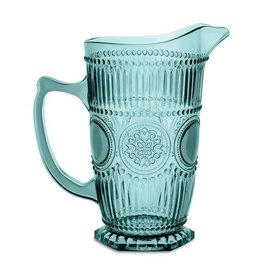 Acrylic Glassware Arabesque Aqua Pitcher 37 oz.
