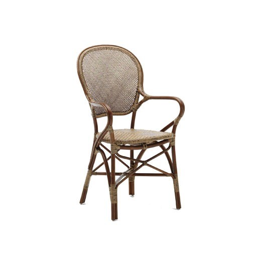 Rossini Chair in Antique Brown