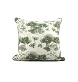 Southern Toile Green PIllow