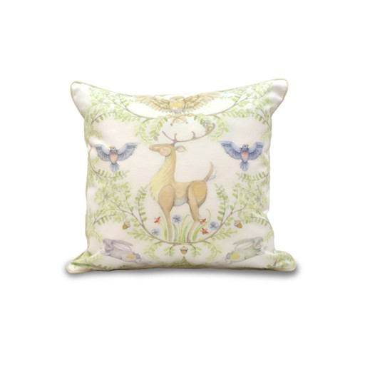 Woodlands Ivory Pillow