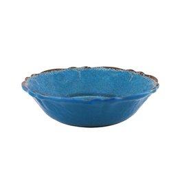 Le Cadeaux Antique Blue Melamine Cereal Bowl