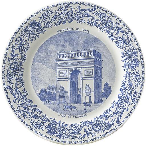 Gien Set/6 Paris Monuments Coasters