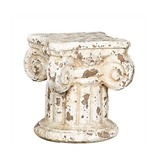 """Terra Cotta Column 7""""H for displaying objects"""