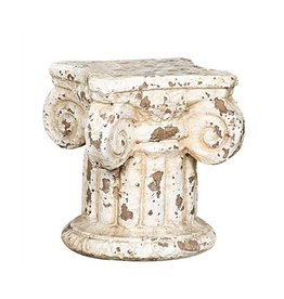 "Terra Cotta Column 7""H for displaying objects"