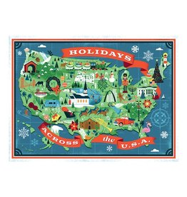 True South Puzzle Holidays Across America Puzzle