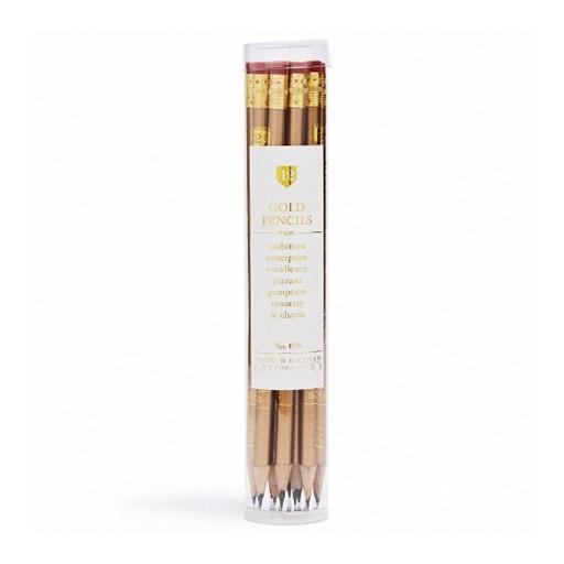 Gold Pencil Set