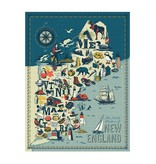 True South Puzzle New England States Puzzle