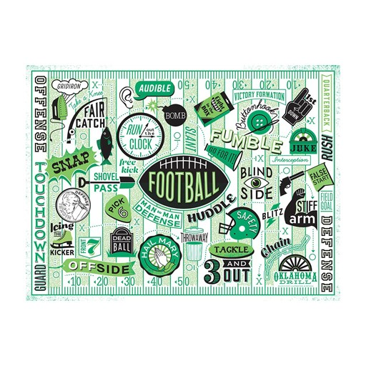 True South Puzzle Football Puzzle