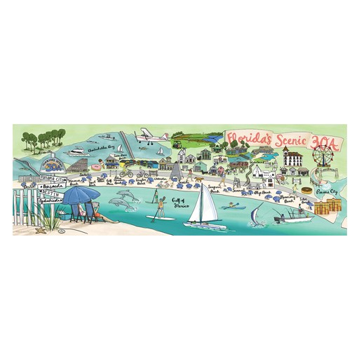 True South Puzzle Florida 30A Puzzle