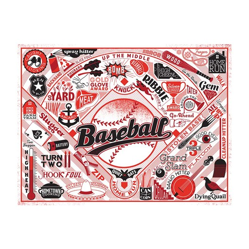 True South Puzzle Baseball Puzzle