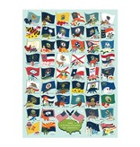 True South Puzzle State Flags Puzzle