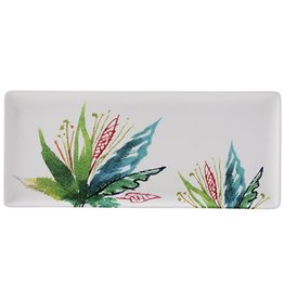 Gien Gien Jardins Vegetal Oblong Serving Tray