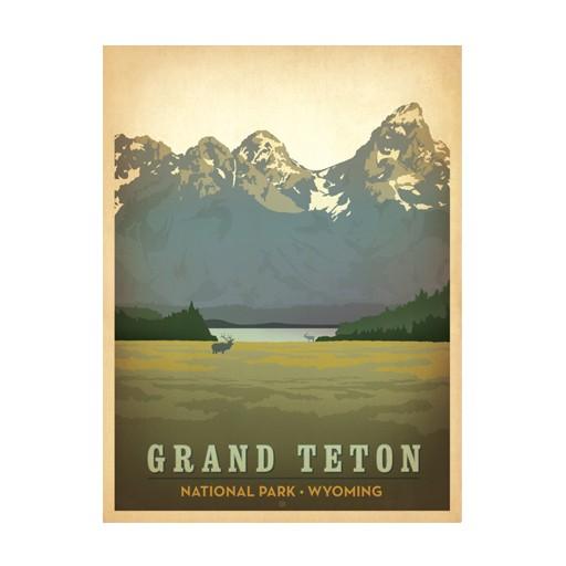 True South Puzzle Grand Teton National Park Puzzle