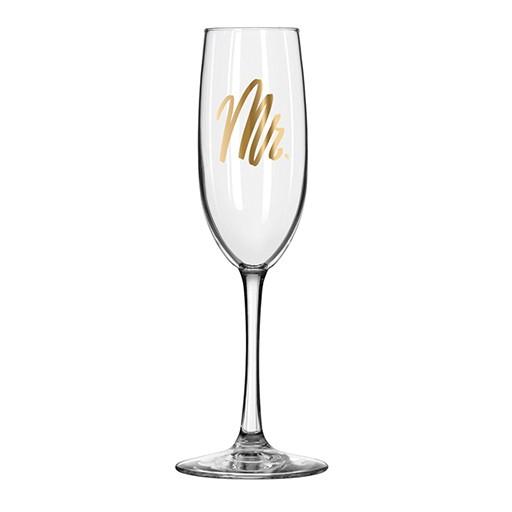 Mr. Champagne Flute