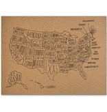 US Map Corkboard X Steve Mckenzies - Corkboard us map