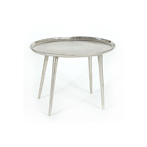 Selamat Pewter Side Table Small