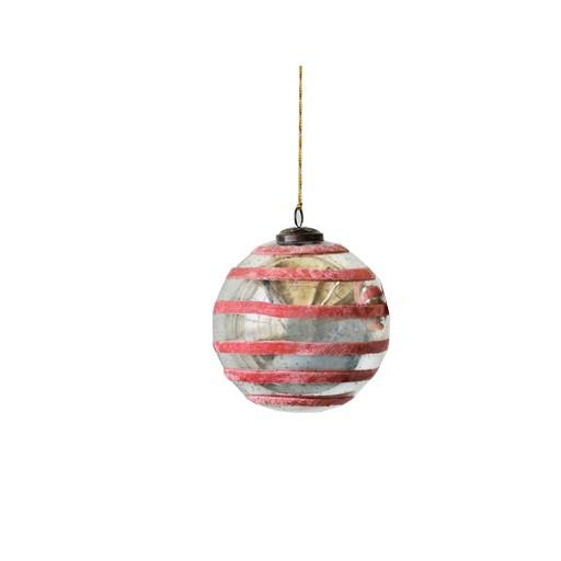Pink Velvet Ornament