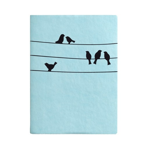Birds on Wires Journal 5x7""