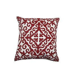 Calcutta Red Pillow 20x20""