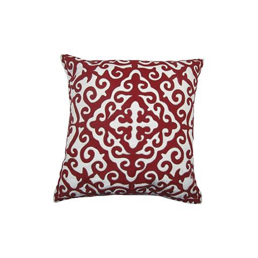 """Calcutta Red Pillow 20x20"""""""