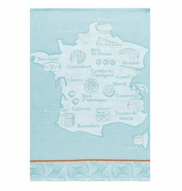 Fromagerie Turquoise Tea Towel