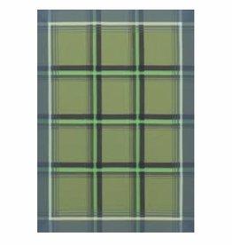 Le Jacquard Green Plaid Tea Towel