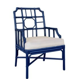 Selamat Regeant Arm Chair Blueberry