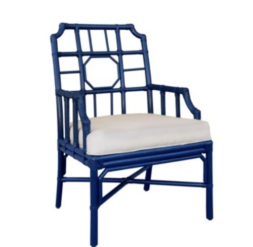 Selamat Regeant Arm Chair Blueberry