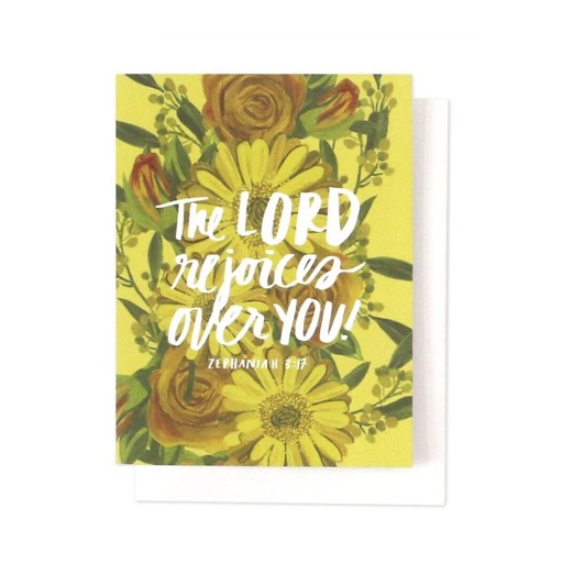 Thimblepress The Lord Rejoices Card