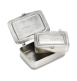 "Match ""Tutto E Possibile"" Pewter Box Large"